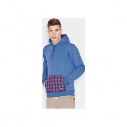 Bluza V014 Niebieski. Szare bluzy męskie marki Button. Za 159,00 zł.