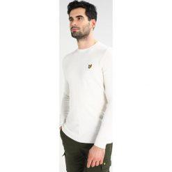 Swetry klasyczne męskie: Lyle & Scott CREW Sweter white