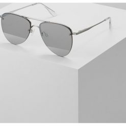 Okulary przeciwsłoneczne damskie: Le Specs THE PRINCE Okulary przeciwsłoneczne silvercoloured