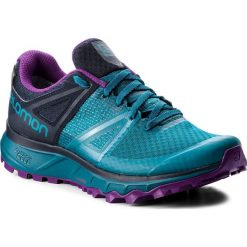 Buty SALOMON - Trailster Gtx W GORE-TEX 404885 26 W0 Deep Lagoon/Navy Blazer/Purple Magic. Niebieskie buty do biegania damskie Salomon, z gore-texu. Za 549,00 zł.