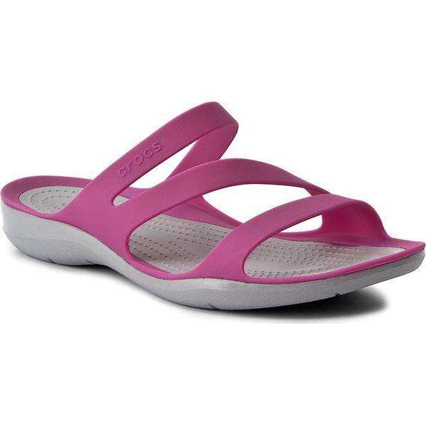 b7d4bffddb8c Klapki CROCS - Swiftwater Sandal W 203998 Vibrant Violet - Różowe ...