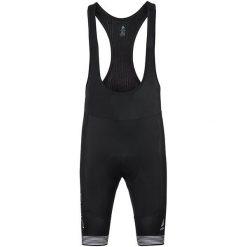 Odlo Spodenki rowerowe męskie Tights short suspenders Ceramicool X-Light czarne r. M (422112). Czarne odzież rowerowa męska marki Odlo. Za 348,53 zł.