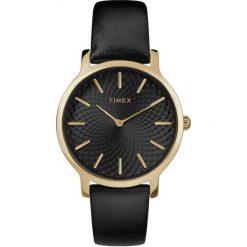 Zegarek Timex Damski TW2R36400 Metropolitan 34 Slim. Czarne zegarki damskie Timex. Za 288,99 zł.
