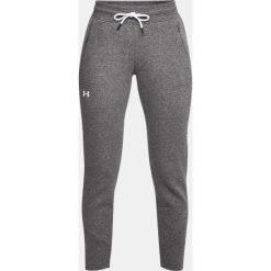 Spodnie sportowe damskie: Under Armour Spodnie damskie Slim Leg Rib Cuff Jogger szare r. XS (1320607-019)