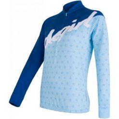 Bluzki sportowe damskie: Sensor Koszulka Rowerowa Dres Stars Blue S