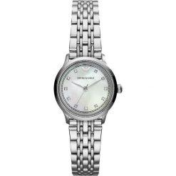 Emporio Armani Zegarek silvercoloured. Szare zegarki damskie Emporio Armani. W wyprzedaży za 861,75 zł.
