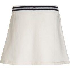 Armani Junior Spódnica mini bianco latte. Białe minispódniczki marki Armani Junior, z bawełny. W wyprzedaży za 367,20 zł.