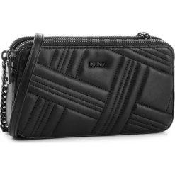 Torebka DKNY - Allen Camera Bag R83EB640  Blk/Black BBL. Czarne listonoszki damskie DKNY, ze skóry. Za 639,00 zł.