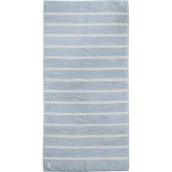 """Kąpielówki męskie: Ręcznik kąpielowy """"Menton"""" w kolorze błękitnym"""