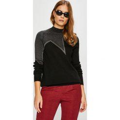 Jacqueline de Yong - Sweter Bright Star. Brązowe swetry oversize damskie Jacqueline de Yong, m, z dzianiny. W wyprzedaży za 59,90 zł.
