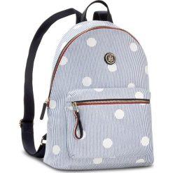 Plecaki męskie: Plecak TOMMY HILFIGER – Poppy Backpack Canvas Print AW0AW05312 902