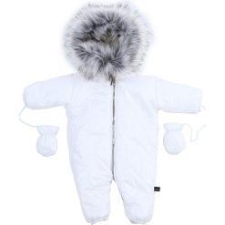 Kombinezony niemowlęce: Kombinezon niemowlęcy biały MIS17