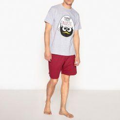 Piżamy męskie: Piżama na lato z nadrukiem kurczaczka Calimero