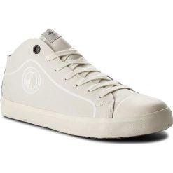 Trampki PEPE JEANS - Industry Pro B&W PMS30428 Factory White 801. Brązowe tenisówki męskie Pepe Jeans, z gumy. W wyprzedaży za 269,00 zł.