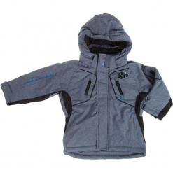 Kurtka narciarska w kolorze szaroniebieskim. Niebieskie kurtki chłopięce marki Peak Mountain. W wyprzedaży za 185,95 zł.