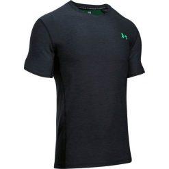 T-shirty męskie: Under Armour Koszulka męska SUPERVENT FITTED SS czarna r. S (1289597-002)