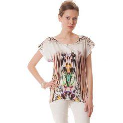 Bluzki asymetryczne: Bluzka w kolorze fioletowym