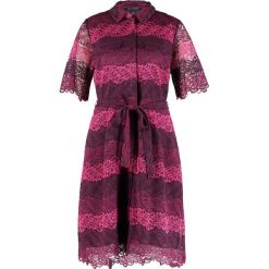 Sukienki: Banana Republic Sukienka koszulowa cranberry