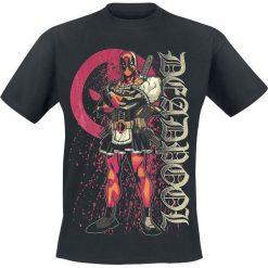 Deadpool Bloody Housewife T-Shirt czarny. Czarne t-shirty męskie z nadrukiem Deadpool, m, z okrągłym kołnierzem. Za 74,90 zł.