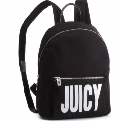 Plecak JUICY BY JUICY COUTURE - Denver Black Core Backpack JCH0118 Black. Czarne plecaki damskie Juicy by Juicy Couture, z materiału, eleganckie. Za 269,00 zł.