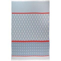 Chusta hammam w kolorze błękitnym - 200 x 140 cm. Czarne chusty damskie marki Hamamtowels, z bawełny. W wyprzedaży za 87,95 zł.