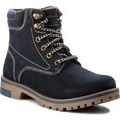 Trapery LASOCKI - WI21-DOG-01 Granatowy1. Niebieskie buty zimowe damskie Lasocki, z materiału. Za 199,99 zł.