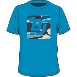 T-shirty chłopięce: BEJO Koszulka dziecięca z logo BJ Hawaiian Ocean niebieska r. 110