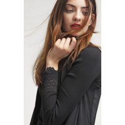 Bluzki asymetryczne: Rosemunde Bluzka z długim rękawem schwarz
