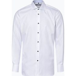 Van Graaf - Koszula męska, czarny. Niebieskie koszule męskie marki Van Graaf, m, z włoskim kołnierzykiem. Za 199,95 zł.