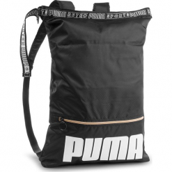 Plecak PUMA - Prime Street 2-Way Backpack 075410 01 Puma Black. Czarne plecaki damskie Puma, z materiału, sportowe. Za 199,00 zł.