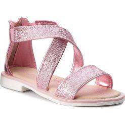 Sandały dziewczęce: Sandały NELLI BLU – CS17087 Różowy