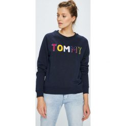 Tommy Hilfiger - Bluza. Czarne bluzy męskie rozpinane marki Only Play, l, z bawełny, bez kaptura. W wyprzedaży za 399,90 zł.