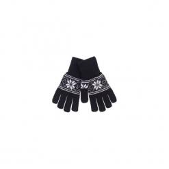 Rękawiczki damskie we wzory. Czarne rękawiczki damskie TXM. Za 7,99 zł.