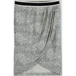 Spódnice wieczorowe: Spódnica kopertowa ze wzorem w łuski