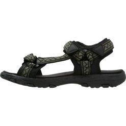 Sandały męskie: YOURTURN Sandały trekkingowe black/oliv/grey