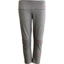 Nike Spodnie damskie W NK Dry Capri DFC GRX  szare r. L (861214 091). Szare spodnie sportowe damskie Nike, l. Za 102,59 zł.