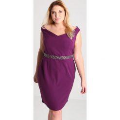 Sukienki hiszpanki: Dorothy Perkins Curve SALMA Sukienka koktajlowa purple
