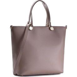 Torebka CREOLE - K10226  Capuccino. Brązowe torebki klasyczne damskie marki Creole, ze skóry, duże. W wyprzedaży za 229,00 zł.