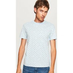 T-shirt z mikroprintem - Niebieski. Niebieskie t-shirty męskie marki QUECHUA, m, z elastanu. Za 49,99 zł.