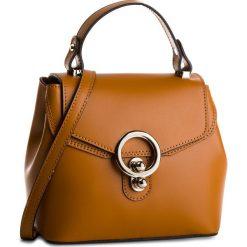 Torebka CREOLE - K10511 Brąz. Brązowe torebki klasyczne damskie Creole, ze skóry, duże. W wyprzedaży za 169,00 zł.