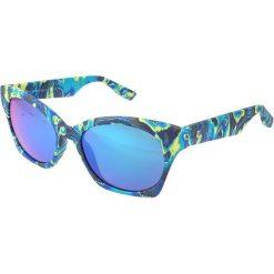 """Okulary przeciwsłoneczne damskie aviatory: Okulary przeciwsłoneczne """"0003/S XAC/T5"""" w kolorze niebieskim"""