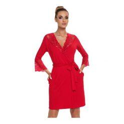 Szlafrok Stella Red. Czerwone szlafroki kimona damskie Donna. Za 141,90 zł.