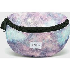 Spiral - Nerka. Szare walizki marki Spiral, w paski, z materiału. Za 79,90 zł.