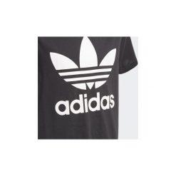 T-shirty z krótkim rękawem Dziecko  adidas  Koszulka Trefoil. Czarne bluzki dziewczęce z krótkim rękawem Adidas. Za 99,95 zł.