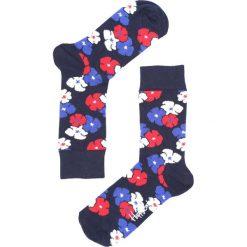Granatowe Skarpetki Kimono Happy Socks. Czerwone skarpetki damskie marki Born2be. Za 29,99 zł.
