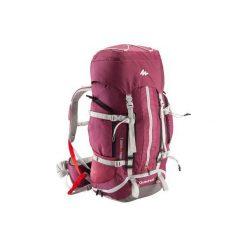 Plecak trekkingowy Easyfit 50 l damski. Fioletowe plecaki damskie marki QUECHUA, z materiału. Za 299,99 zł.