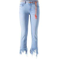 """Spodnie z wysokim stanem: Dżinsy """"Mara"""" w kolorze błękitnym"""