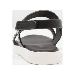 Next EFFECT STUD OLDER GIRLS Sandały black. Czarne sandały chłopięce Next, z materiału. Za 169,00 zł.