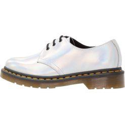 Jazzówki damskie: Dr. Martens 1461 3 EYE SHOE Oksfordki silver lazer reflective metallic