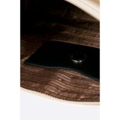 Love Moschino - Torebka. Czarne shopper bag damskie marki Love Moschino, z materiału, duże. W wyprzedaży za 429,90 zł.